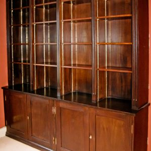 Sapele-Veneer-Cupboard-&-Shelves-1bg