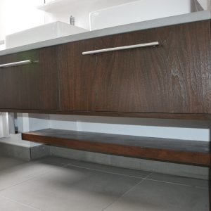 Custom sink unit