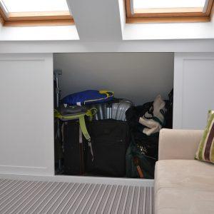 Custom built Loft furniture handles