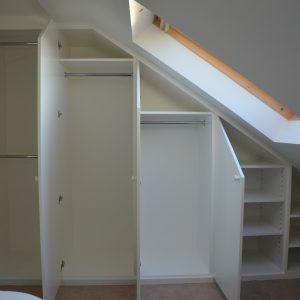 Custom built Loft furniture open